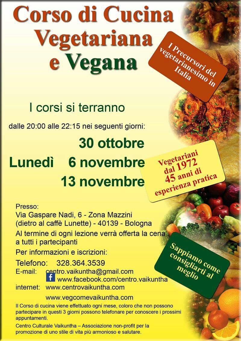 Corsi di cucina vegetariana e vegana a bologna il tuo corso di cucina vegetariana a bologna - Corsi cucina bologna 2017 ...